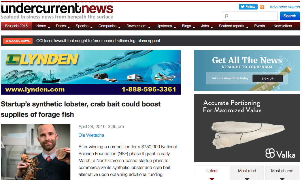 Undercurrent News page
