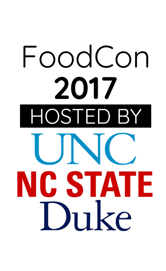 FoodCon 2017 Hosted by UNC, NC State, and Duke University