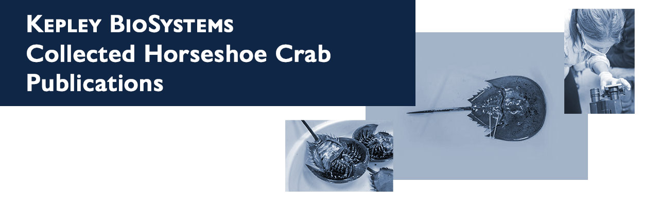 Kepley BioSystems Collected Horseshoe Crab Publications